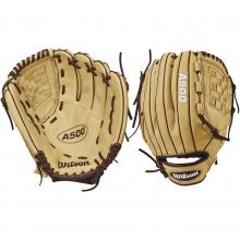 "Wilson 12"" A500 YOUTH Baseball Glove, WTA05RB1812"