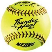 Dudley Thunder Heat WT12YFP NFHS 47/375 12'' Fastpitch Softballs, dz