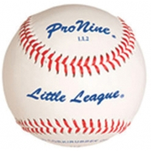 Pro Nine LL2 Official Little League Baseballs, dz
