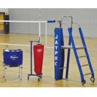 "Jaypro PVB-4PKG PVB-4500 3"" STANDARD Volleyball Net Package"