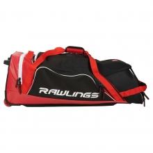 Rawlings R1502 Wheeled Catcher's Equipment Bag