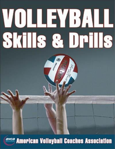 Volleyball Skills Amp Drills Book A84 771