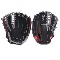 """Rawlings 12.75"""" R9 Outfield Baseball Glove, R96019BSGFS-3/0"""