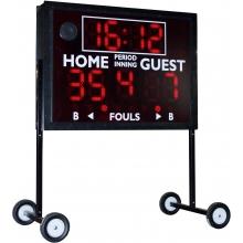 Sportable Scoreboard MS-4 Multi-Sport, Indoor / Outdoor Scoreboard
