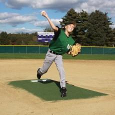 """Promounds MP3003G Major League Game Baseball Mound, 8'3""""L x 5'W x 6""""H, Green"""