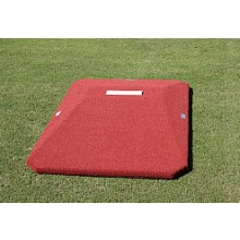 "Proper Pitch 9'Lx5'4""Wx6""H Junior Game Baseball Mound, Clay"