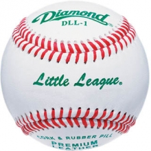 Diamond DLL-1 Little League Game Baseballs, dz