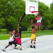 Bison 6'' Square Ultimate Basketball Hoop, BA871-BK