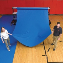 GymGuard Floor Cover, Protective Fabric