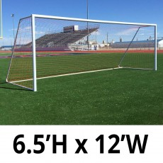 Pro-Bound 6.5'x12' Quick Kick Official Soccer Goal (ea)