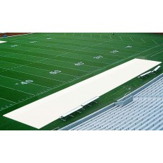 Aer-Flo Bench Zone Sideline Turf Protector, 15' x 50'