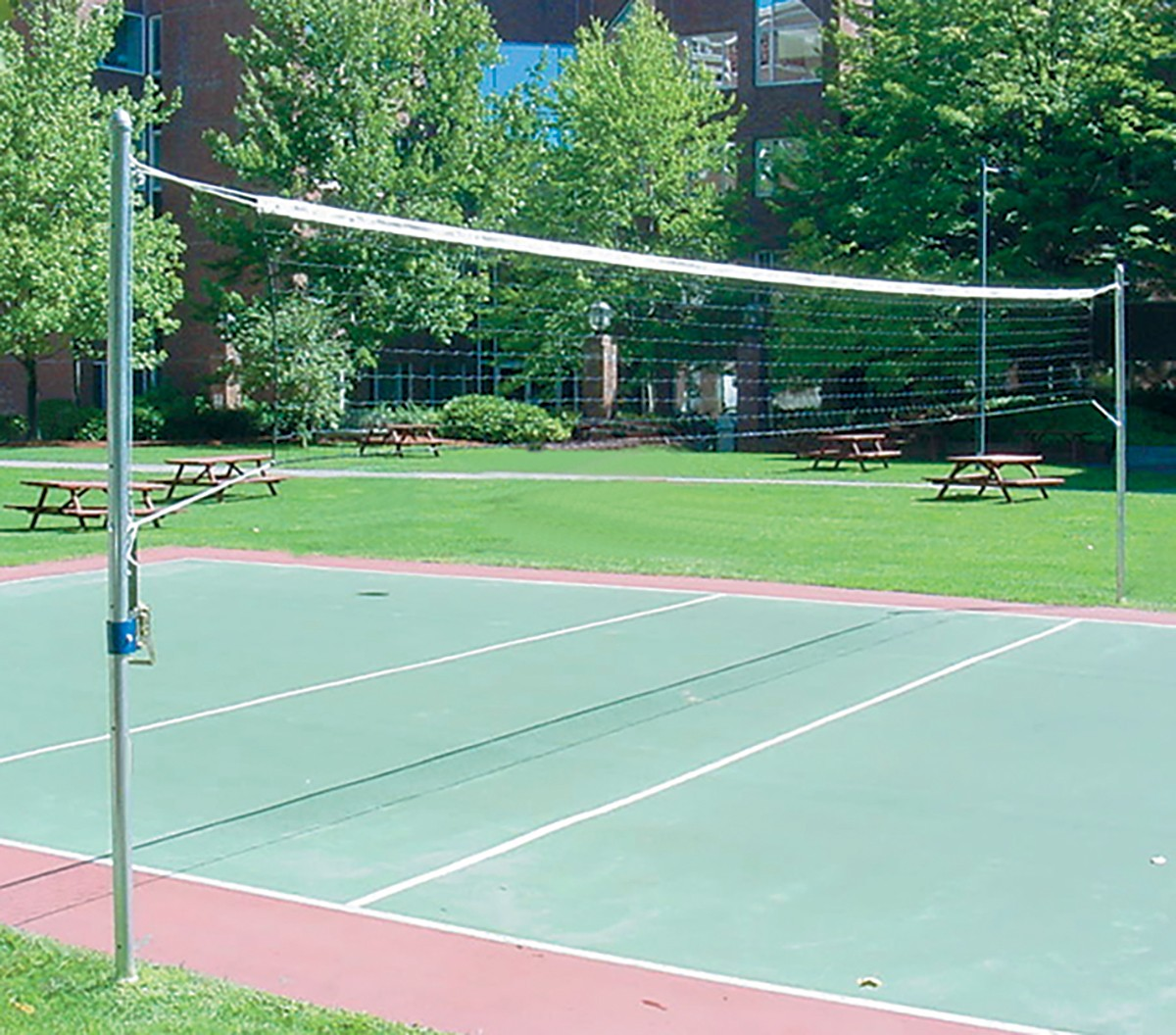 Jaypro Outdoor Volleyball Uprights Os 350 A25 189