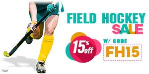 Field Hockey Sale - Save 15%