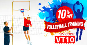 10% off Volleyball Training w/ code VT10