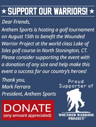 Wounded Warrior Donation Page - Anthem Sports Invitational Golf Tournament