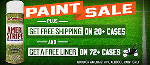 Get Free Shipping on 20+ Cases - AND - Get Free Shipping on 72+ Cases + a Free Paint Liner