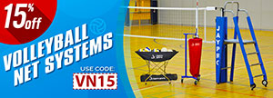 SAVE 15% on Volleyball Net Systems