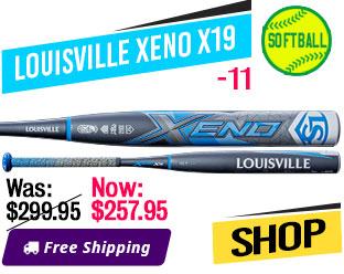 2019 Louisville Xeno X19 -11 Fastpitch Bat, WTLFPXN19A11