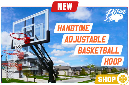 Bison HangTime Adjustable Basketball Hoop