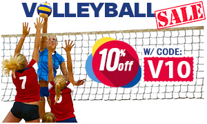 Save 10% on Volleyball