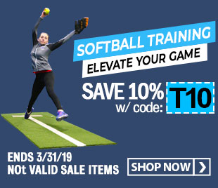 Save 10% on Baseball/Softball Training Gear