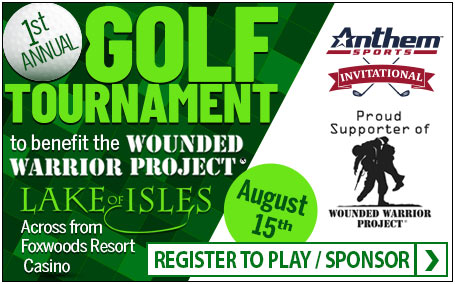 Anthem Sports Golf Invitational to benefit the Wounded Warrior Project - 8/15/19