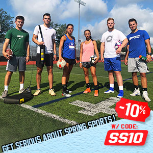 Get Serious About Spring Sports - Save 10%