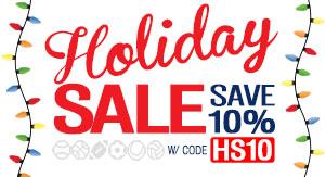 Holiday Sale & Save 10%