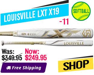 2019 Louisville LXT X19 -11 Fastpitch Bat, WTLFPLX19A11