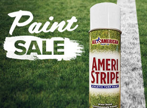 Save on Ameri-Stripe field paint! Plus, get Free Shipping on 25+ cases ordered.