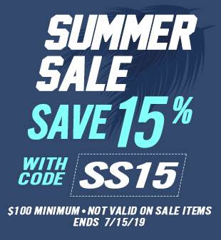 Summer Sale - Save 15%