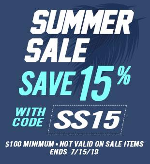 Summer Sale - Save 15%