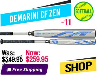 2019 DeMarini -11 CF Zen Fastpitch Bat, WTDXCFS19