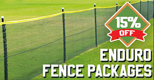 15% Off Enduro Baseball Fence Packages