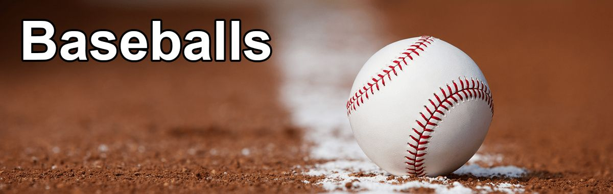 Practice, Youth & High School Baseballs For Sale