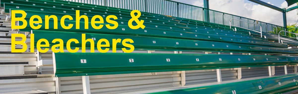 Sports Benches & Bleachers