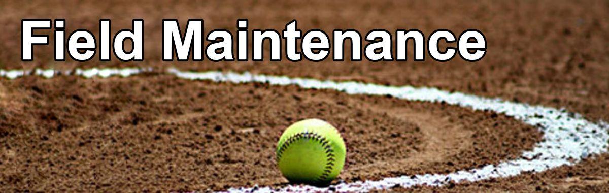 Softball Field Maintenance Equipment