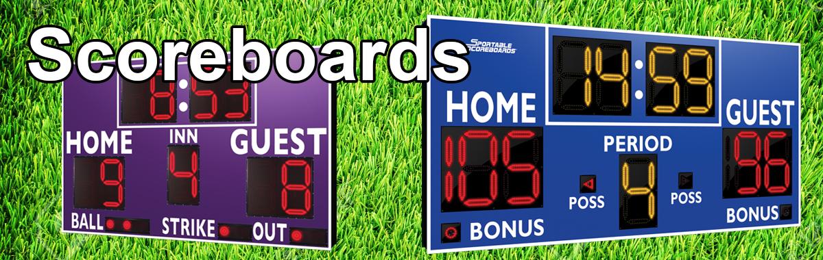 Sport Scoreboards & Accessories