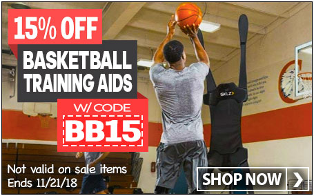 Save 15% on Basketball Training Gear w/ code BB15