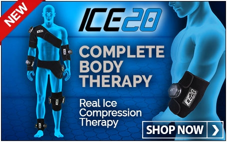 ICE20 - Complete Body Therapy. Real Ice Compression Therapy.