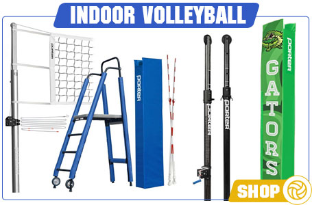 Shop Indoor Volleyball Net Systems