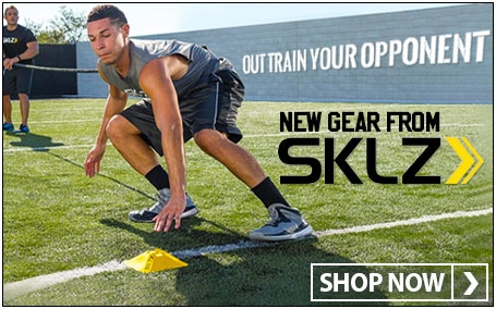 Out train your opponent with SKLZ training gear
