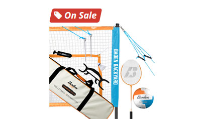 Baden Champions Volleyball/Badminton Set