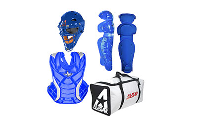 All Star CKW14.5PS Fastpitch Softball Catcher's Gear Kit, ADULT