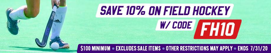 Save 10% on Field-hockey