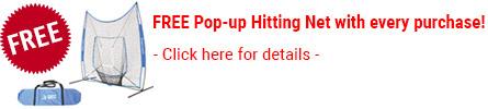 FREE Pop-Up Hitting Net