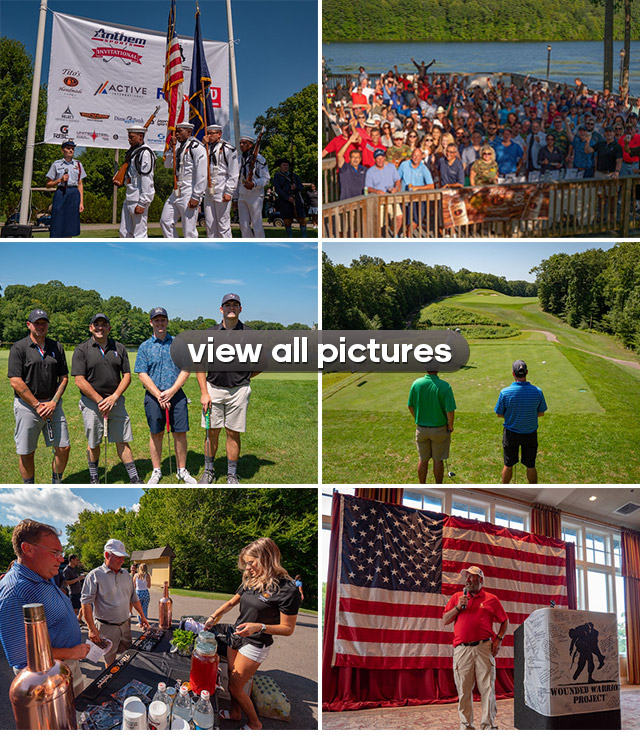 Official Photos - Anthem Sports Invitational for the Wounded Warrior Project