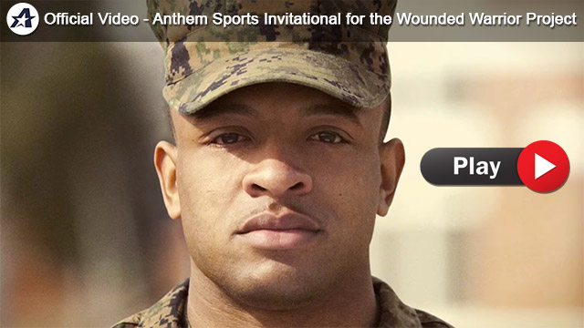 Official Video - Anthem Sports Invitational for the Wounded Warrior Project