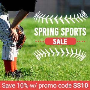 Spring Sports Sale - Save 10%