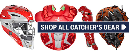 Click here to shop all Baseball Catcher's Gear